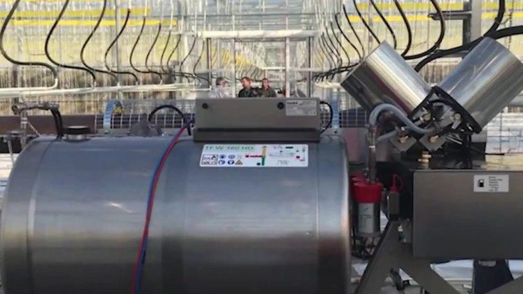 Аэрозольные генераторы горячего тумана
